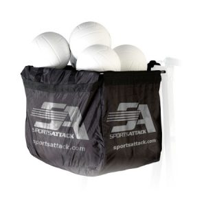 SPORTSATTACK – Volleyball Ball Bag and a Frame